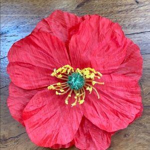 Tieks poppy flower